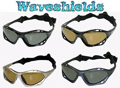 Waveshields Watersports Sunglasses - Protect your eyes.100% UVA/B Protection.