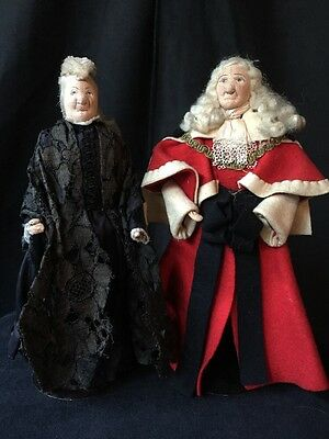"Antique LIBERTY of LONDON, ""Widowed QUEEN VICTORIA"" & Lord High Mayor By Kimport"