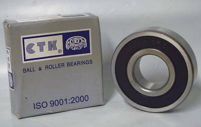 CTK - 6306 2RS V2, 30mm x 72mm x 19mm wide - Sealed Deep Groove Ball Bearing