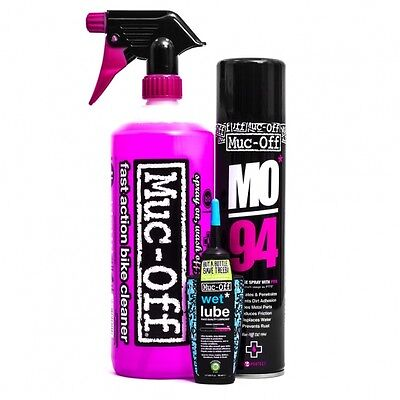 Muc-Off Wash Protect and Lube kit    shMO850    A31k