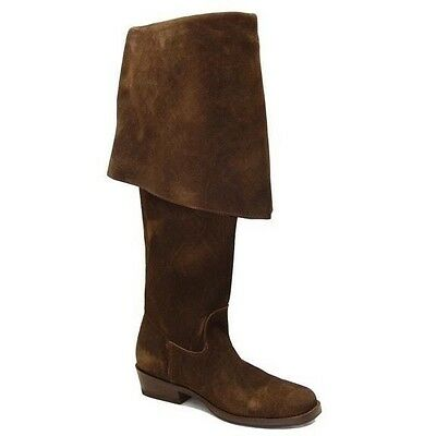 Jack Sparrow Pirate Boots by CABOOTS Men's Size 11 Chocolate  Suede