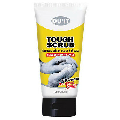 DUIT Tough Scrub Heavy Duty Hand Cleaner 150ml Du'it Bonus 30ml Duit Hands Cream