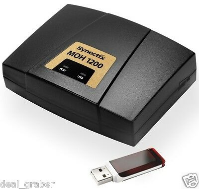 Synectix MP3 Music On Hold - MOH 1200 / USB ~ NEW