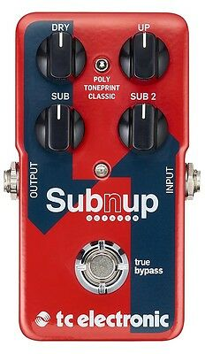 TC Electronic Subnup Polyphonic Octaver Pedal With Toneprint