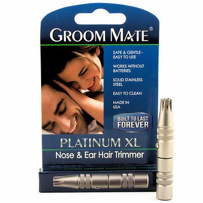 Platinum Groom Mate Nose And Ear Hair Trimmer..
