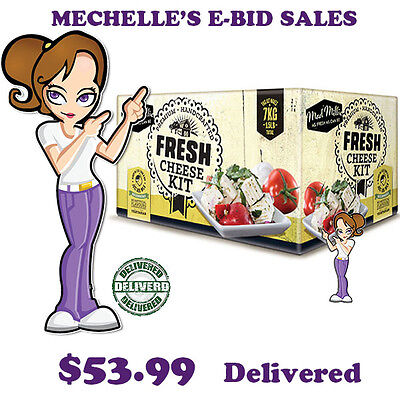 Mad Millie Brand - Fresh Cheese Kit @ $ 54.99 Delivered - 73516