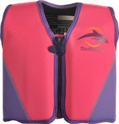 The Konfidence Buoyancy - Beachwear 2 - 3 year 15 - 20 kg Pink