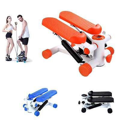 Stepper Fitness Home trainer Exercise Gym apparatus Twister Trainingscomputer in