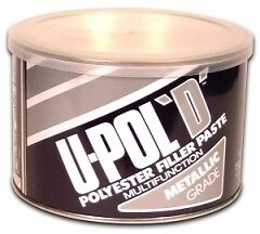 U-POL D Metallic Car Filler Paste 1.1 litre