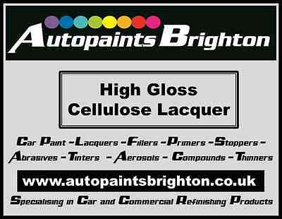 High Gloss Cellulose Clear lacquer 2.5L