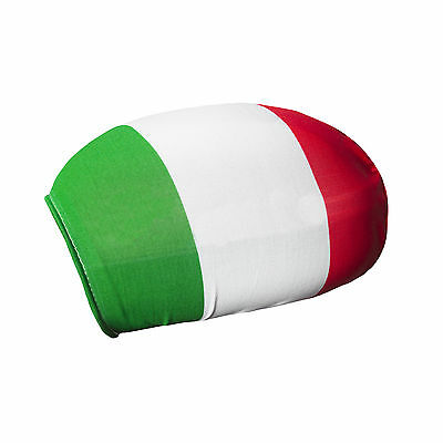 Pack of 2 Italien Car Mirror Flag Covers Wing Mirror Covers Italy