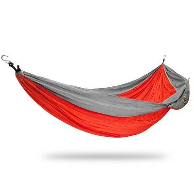 Ticket to the moon King Size Hammock - Orange / Light Grey   Camping Outdoor