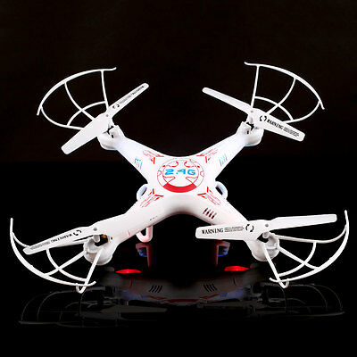 2016 NEW X5C Explorers 2.4Ghz 6Axis RC Quadcopters Drone UFO Airplane RTF White