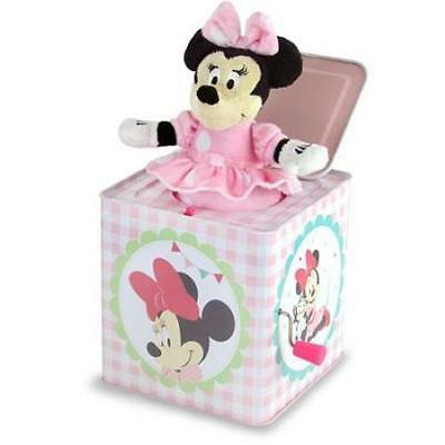 NEW Disney Minnie Mouse Musical Tin Jack in The Box