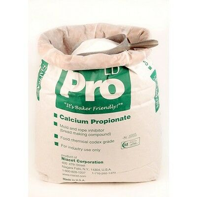 20kg Calcium Propionate Propanoate Baking Mold Inhibitor Preservative E282 Baker