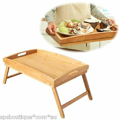 IKEA DJURA rubber wood foldable Bed tray laptop table