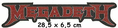 Megadeth  - logo backpatch - FREE SHIPPING
