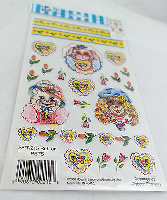 Rub-on Transfer Stickers - 215 Pets