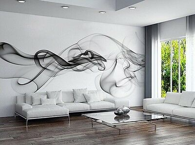 3D Wallpaper Bedroom Mural Roll Luxury Modern Smoke Clouds Abstract Wall Picture