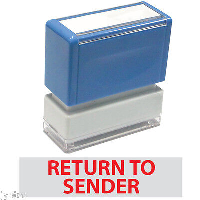 "JYP PA1040 Pre-Inked Rubber Stamp with ""Return To Sender"""
