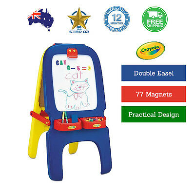 Magnetic Drawing Board Easel Doodle Writing For Children Kids Crayola