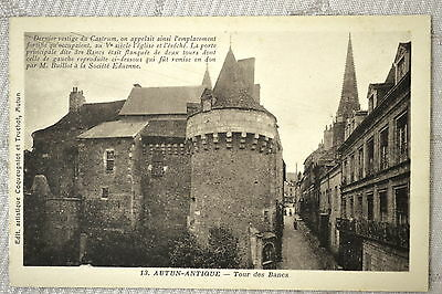"CPA "" AUTUN - Tour des Blancs"
