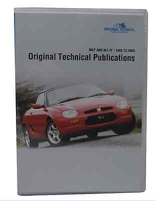 Classic Heritage Parts/Tech DVD for MGF & MGTF 1995 - 2005