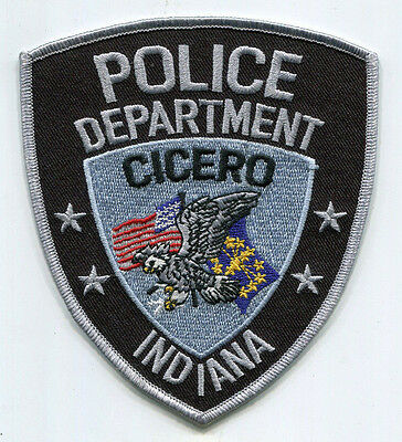 Cicero Indiana Police Patch