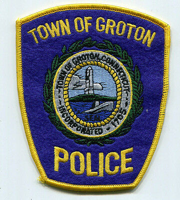 Groton Connecticut Police Patch