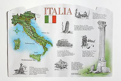 Paper Placemats Case Of 1,000 Italy Design Free Shipping