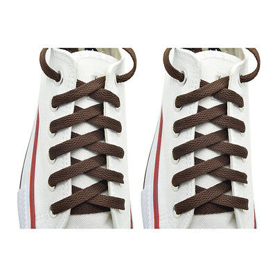 "2 Pairs Flat 27,36,45,54,63/"" Athletic Sports Sneaker L//Gray Shoelace Strings"