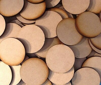 15x 35mm Hex MDF Wood Bases Laser Cut Crafts Wargames Miniatures FAST SHIPPING
