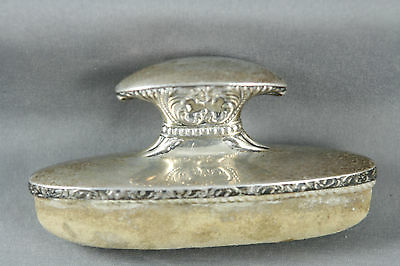 Vtg Sterling Silver Nail Buffer Foster and Bailey American Silversmiths Vanity
