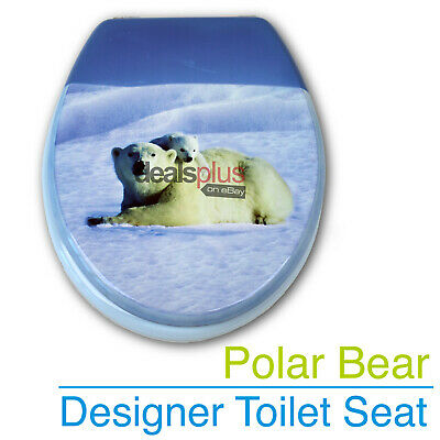KITTENS Designer Toilet Seat and Cover Poly Resin Finish Brand New