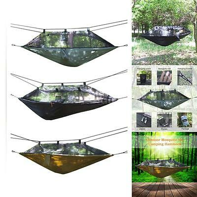Mosquito Net Anti-Insects Hammock Hang Rope Swing Outdoor Camping Hiking W6F3