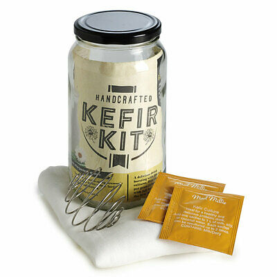 Mad Millie Kefir Kit - Makes 6L of Kefir, Alternative to Natural Yoghurt