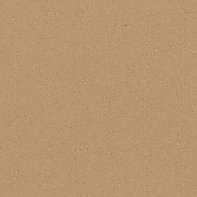 A6 A5 A4 A3 A2 12x12 Rustic Fleck Brown Kraft Card 280gsm MATCHING FRONT & BACK