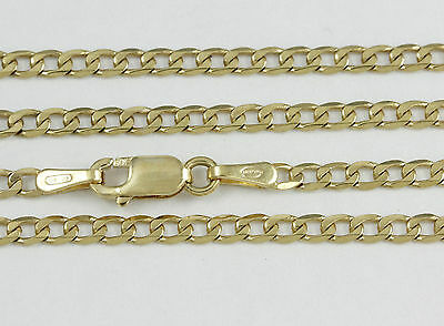 """16-24"""" 2.2mm 18k Yellow Gold Open Link Chain, (NEW solid Italian necklace) 2371"""