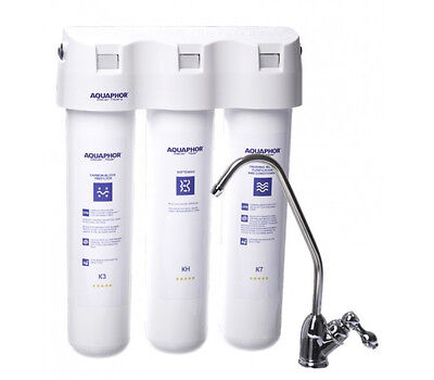 Aquaphor Crystal H Softening - Compact Under-sink Drinking Water Filter