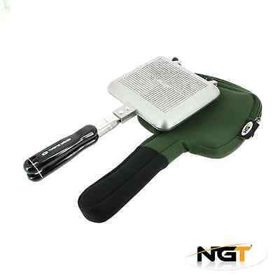 Bankside Sandwich Toastie Toaster Maker With Case Carp Fishing Camping Ngt