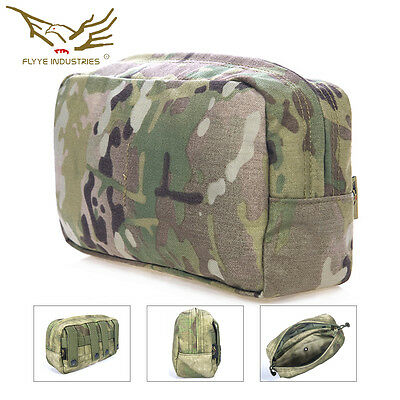 FLYYE Accessories Pouch Molle Tactical Universal Bag CORDURA CP CB AOR1 C007