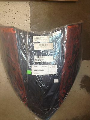 New Arctic Cat Windshield Orange 5639-793