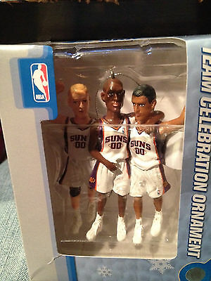 Phoenix Suns NBA Team Celebration Christmas Ornament Forever Collectibles