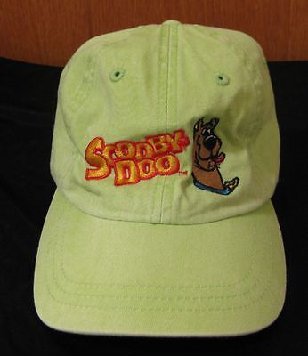 Scooby-Doo Child Kid's Hat Solid Lime NWT Scooby CAP Character Cartoon