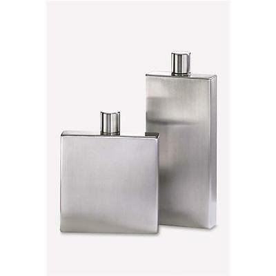 Zack 20547 BOLERO hip flask h.6.30 inch Stainless Steel • AUD 210.96