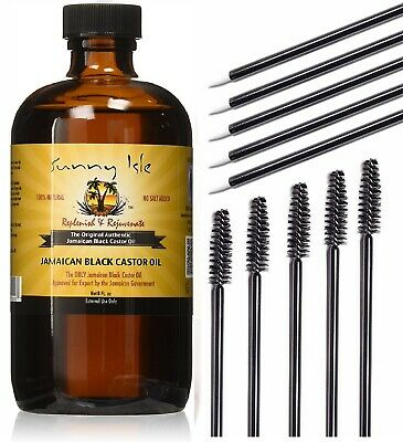 100% PURE JAMAICAN BLACK CASTOR OIL HAIR & EYEBROW GROWTH HAIR LOSS TREATMENT8oz