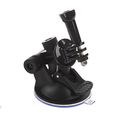 Mini Car Suction Cup Base Holder Tripod Mount Adapter for GoPro HD HERO 2 3 DT