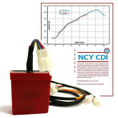 Ncy Performance Cdi - Unlimited Rev / No Rev-Limiter For Honda Ruckus