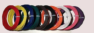 New 12 AWG Guage 600 VOLT THHN STRANDED COPPER WIRE 10 COLORS 25 FT EACH 250'