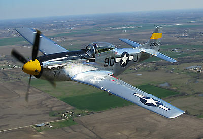 P51 Mustang Plane Poster (2) - Different Sizes - Free Uk Postage - Spitfire